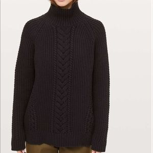 NWT lululemon Bring the Cozy Turtleneck size 12